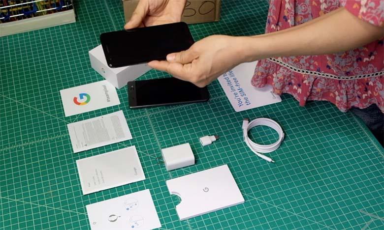 Google Pixel 3a スマートフォン開封