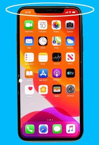 スマホ iPhone 11 Pro Max ノッチ